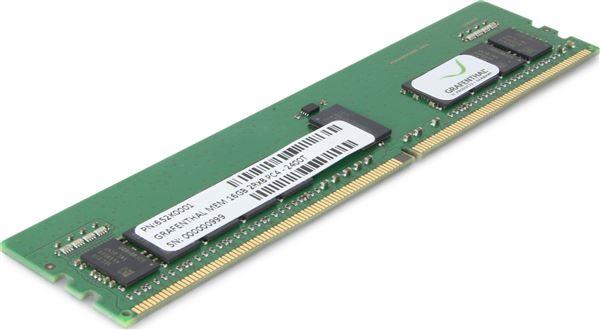 GRAFENTHAL MEM 16GB 2RX8 DDR4-2666MHZ RDIMM PC4-21300 ECC CL19 1.2V FOR HP PROLIANT G10