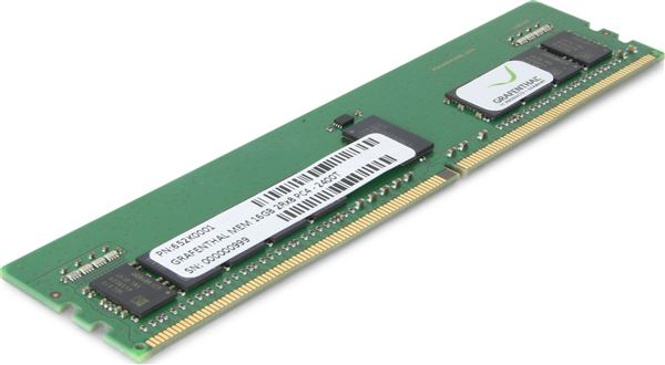 GRAFENTHAL MEM 64GB 2RX4 DDR4-2666MHZ RDIMM PC4-21300 ECC CL19 1.2V FOR HP PROLIANT G10