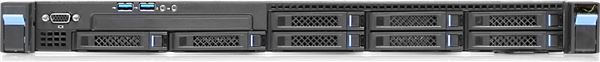 "GRAFENTHAL RACK SERVER 1U R2108 S2 E5-2620V3 16GB 8x2,5"" 2x1GB NIC LSI 3008 SAS/SATA BAYS 1/2 RED PS"