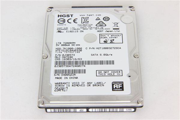 GRAFENTHAL HDD 1TB 2,5'' SATA 7200RPM 32MB CACHE 6GB/S BAUHÖHE 9.5MM FUER SERVER UND WORKSTATION