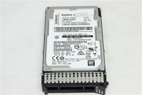 "GRAFENTHAL HDD 600GB SAS 15K 2,5"" 12GB/S 24/7"