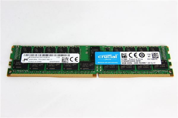 GRAFENTHAL MEM 32GB DDR4-2400MHz RDIMM PC4-19200 CL17 DUAL RANKED ECC