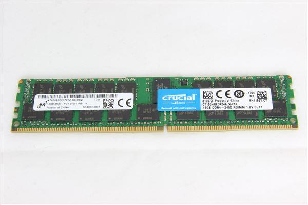 GRAFENTHAL MEM 16GB DDR4 2400MHz RDIMM PC4-19200 CL17 DUAL RANKED ECC