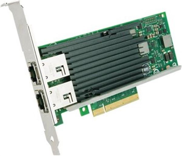 GRAFENTHAL ETHERNET CARD 2x 10GB/S PCIe 2.0 x8 RJ-45 LP INTEL