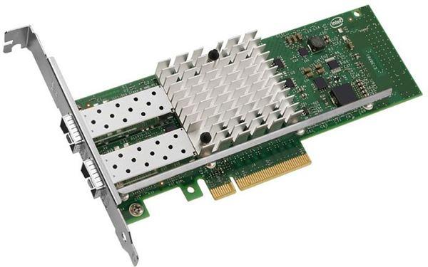 GRAFENTHAL ETHERNET CARD 2x 10GB/s PCIe 2.0 x8 SFP+ LP INTEL