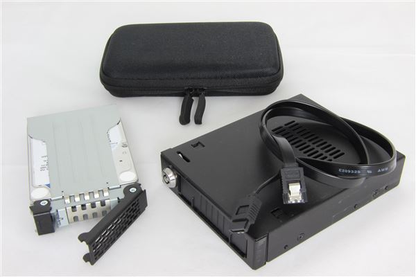GRAFENTHAL BACKUP TO DISK KIT 2TB HDD HOT SWAP BAY HDD TRANSPORT CASE